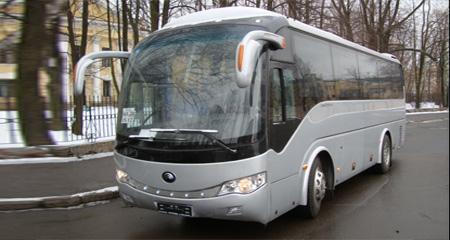 автобус Yutong на 35 мест