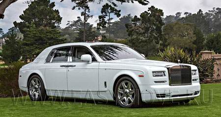 ROLLS ROYCE PHANTOM БЕЛЫЙ