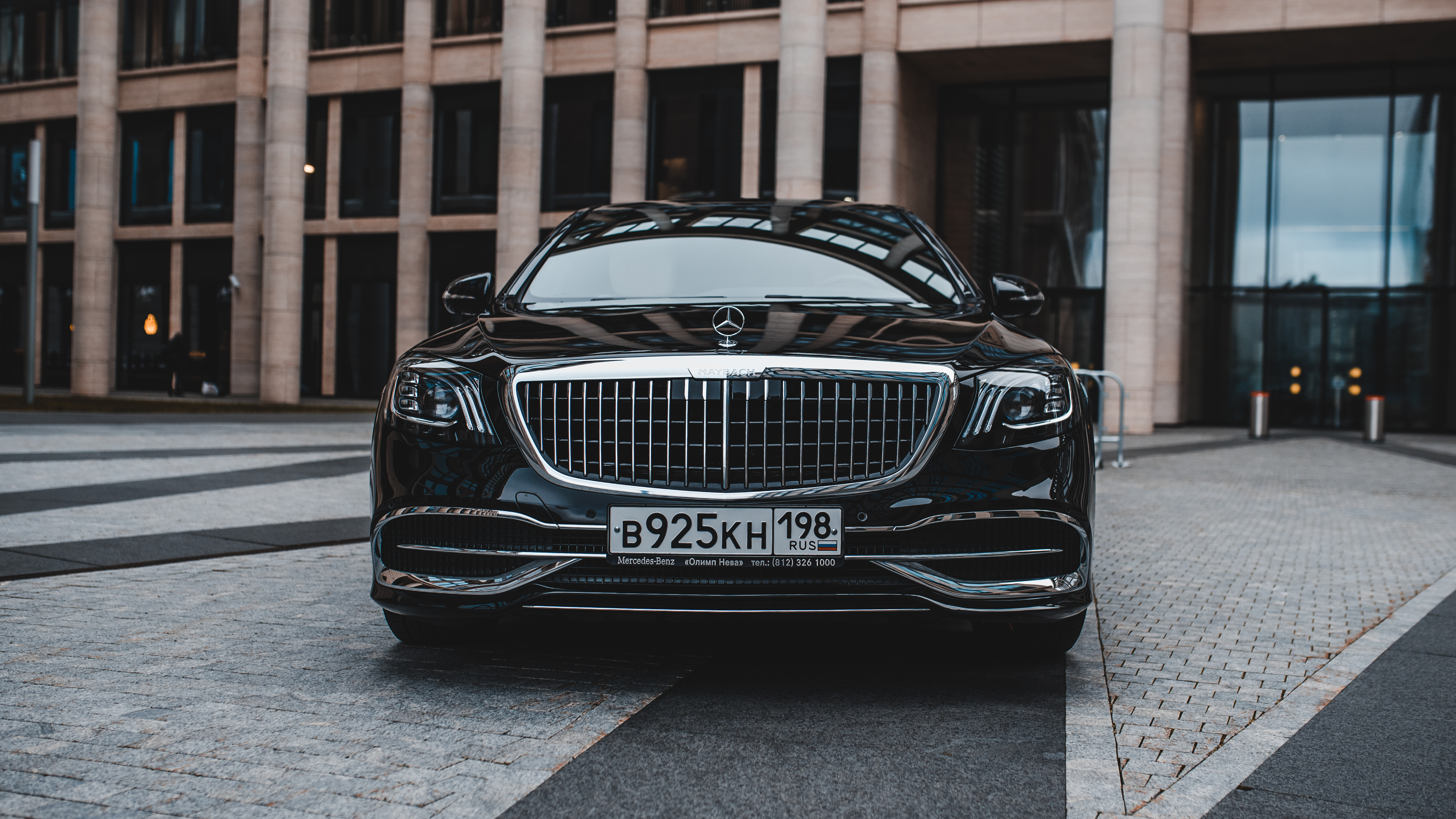 MERCEDES-MAYBACH S500 2019 год
