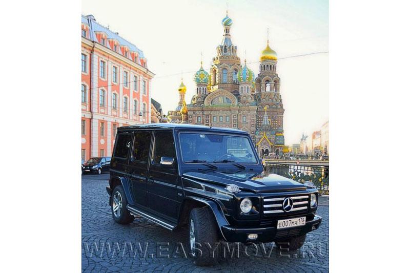 Mercedes Gelandewagen черный