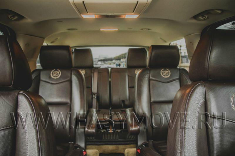 Cadillac Escalade, 2015 год, 7 мест